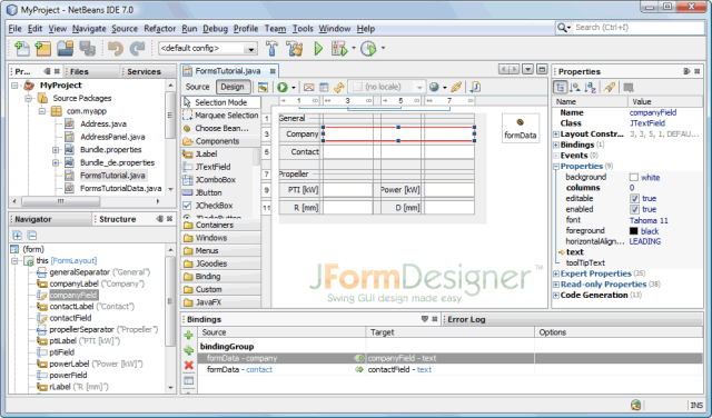 JFormDesigner plug-in for NetBeans